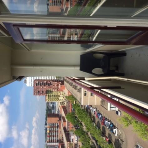 Renovatie van enkel naar dubbelglas op de 10e etage gallerij afbeelding 1