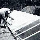 Zonwering voor dakkoepels