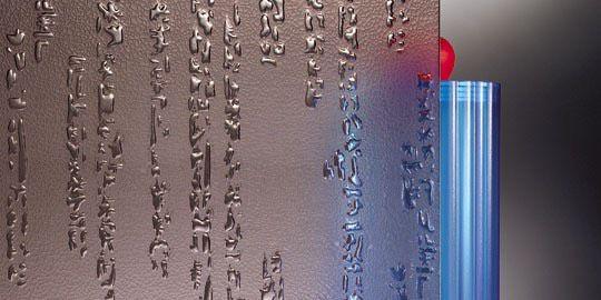 Farao mat-brons